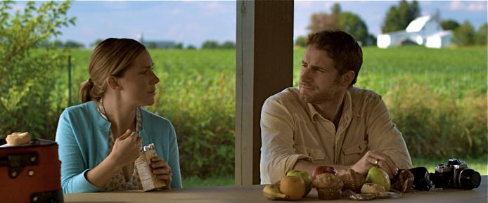 Amber Jaeger as Claire and Sam Jaeger as Thom in Take Me Home. Courtesy of takemehomemovie.com