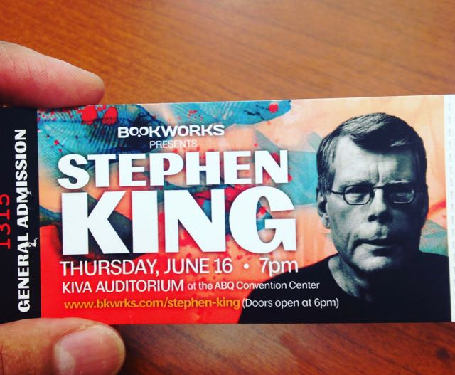 Ticket_Stephen_King_Event