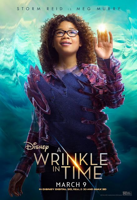 A Wrinkle in TIme Meg Murry